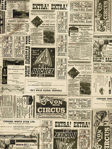 Vintage Events Printed Photography Background / 7369 - DropPlace