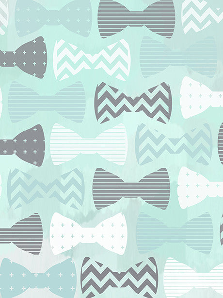 Blue Beau Tie Backdrop Photo Background / 7500 - DropPlace