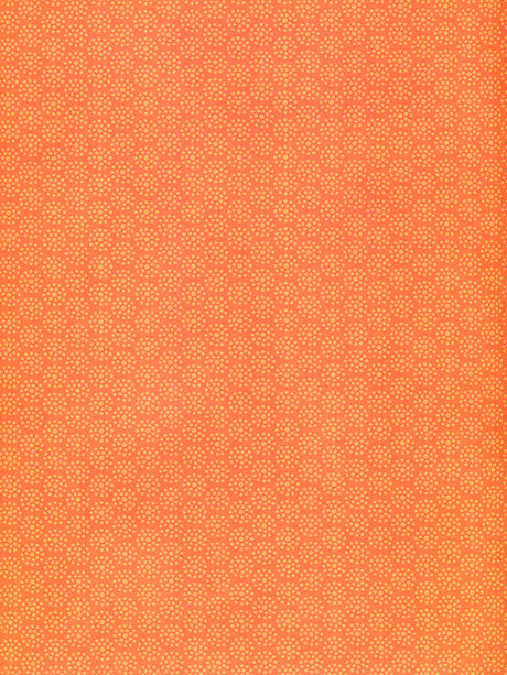 Amber Glow Orange Dot pattern Photo Background Printed Photography Background / 8017 - DropPlace