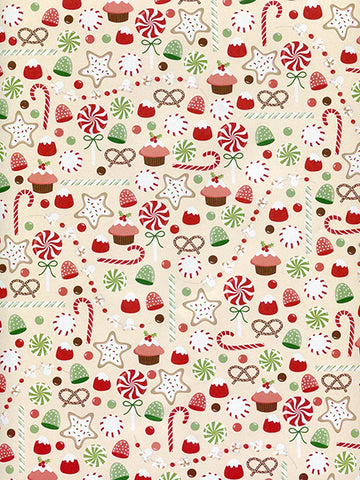 Holiday Snacks Photo Background / 8099 - DropPlace
