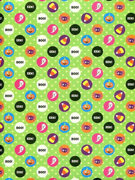 Spooky Polka Dots Photo Backdrop / 9114 - DropPlace