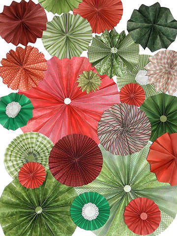 Jingle Bells Printed Photo Backdrop / 9654 - DropPlace