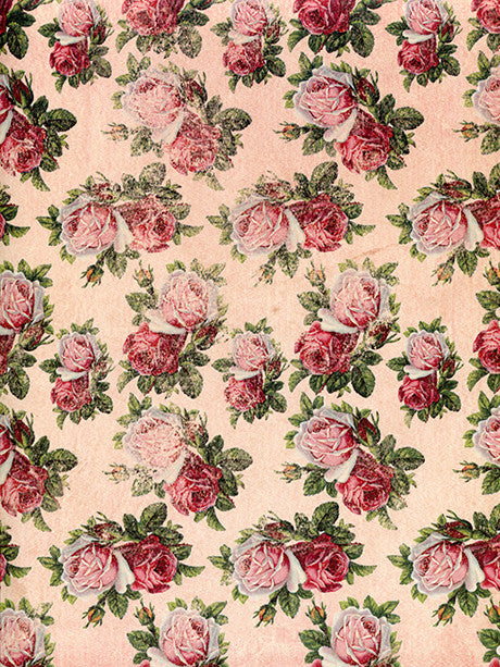 Smells Like Roses Photography Backdrop / 9764
