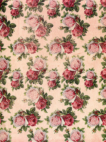 Smells Like Roses Photography Backdrop / 9764 - DropPlace