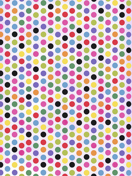 Rainbow Polka Dots Photo Background / 9890 - DropPlace