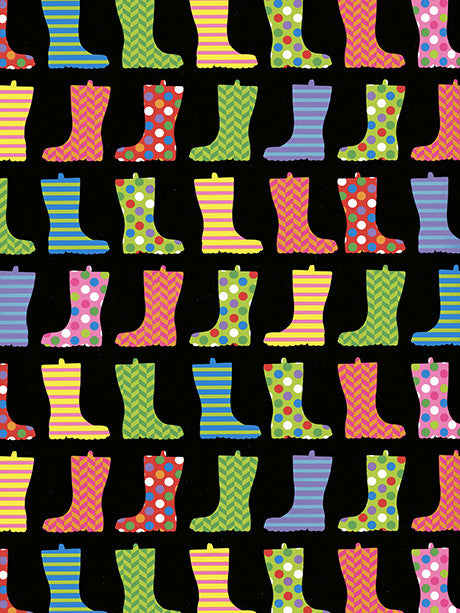 Rainboots Printed Photography Backdrop / 9891 - DropPlace