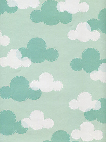 Clouded Printed Photo Background / 9928 - DropPlace