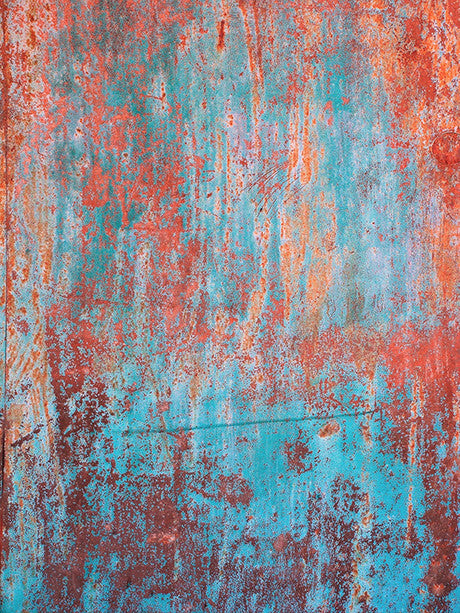 Red and Blue Grunge Photo Backdrop / 012