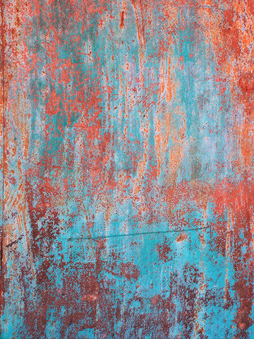 Red and Blue Grunge Photo Backdrop / 012 - DropPlace