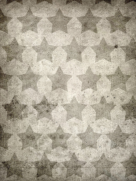 Faded Stars Vintage Backdrop Photography Backdrop / 1157 - DropPlace