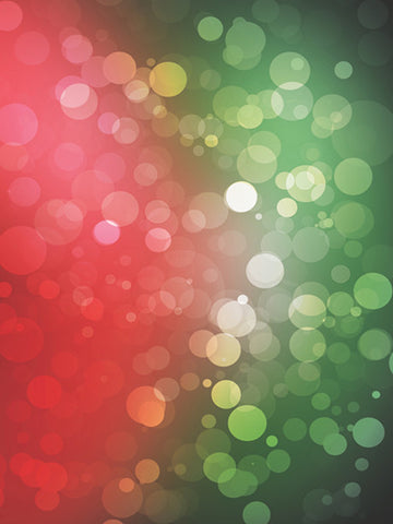 Christmas Bokeh Photography Backdrop / 1462 - DropPlace
