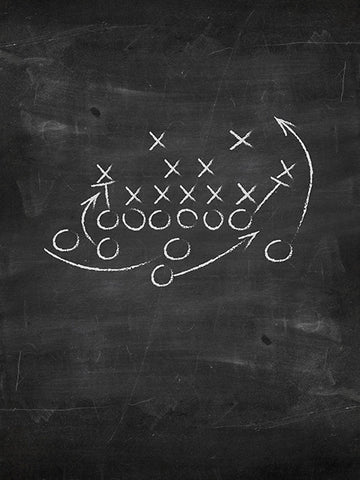Sports Chalkboard Printed Photography Backdrop / 1472 - DropPlace