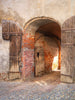 Scenic Brick Archway Photo Backdrop / 1671