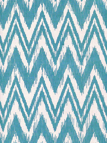Aqua Canvas Chevron Printed Photo Background / 2302 - DropPlace