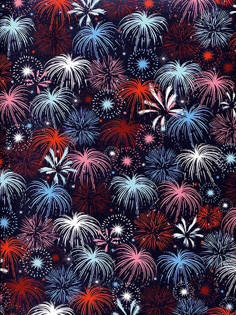 Fireworks  Photo Backdrop / 2351 - DropPlace