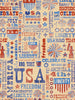 USA Type Design Photo Background / 2378 - DropPlace