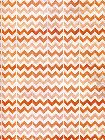 Burnt Orange Chevron Photography Backdrop / 2631 - DropPlace