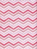Shades of Pink Chevron Photography Backdrop / 2632 - DropPlace