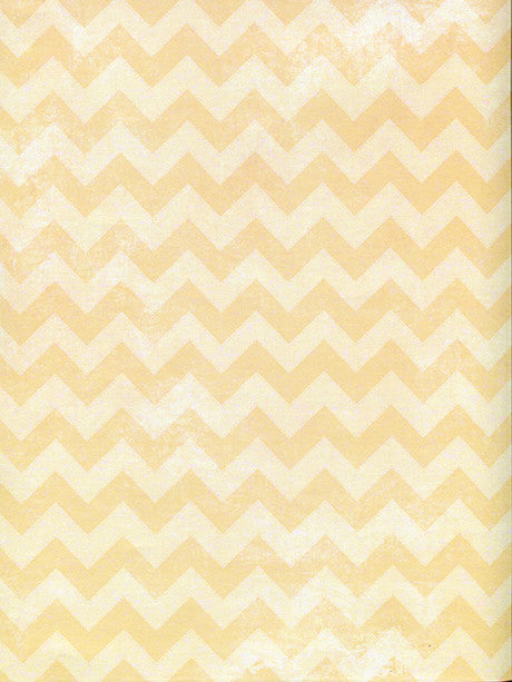 Yellow Chevron Printed Photo Backdrop / 2633