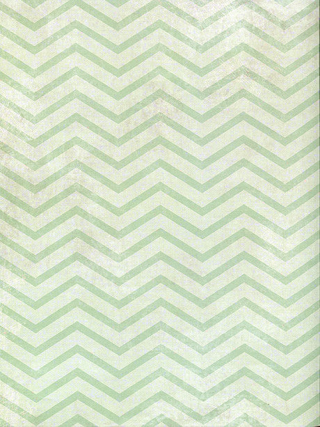 Mint Green Chevron Photo Backdrop / 2636