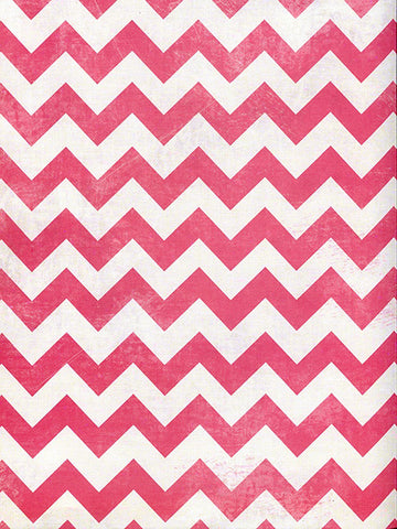 Hot Pink Chevron Printed Photo Background / 2639 - DropPlace