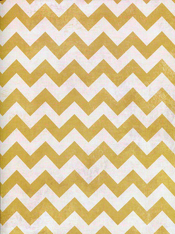 Spicy Mustard Chevron Backdrop Printed Photography Background / 2640 - DropPlace