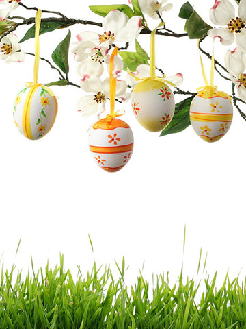 Easter Morning Printed Photo Backdrop / 2709 - DropPlace
