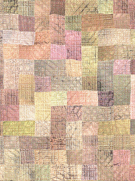 Pastel Quilt Stitch Photo Background / 2757 - DropPlace