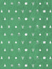 Ornaments in Green Photo Backdrop / 3123 - DropPlace