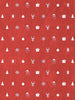 Ornaments in Red Printed Photography Backdrop / 3124 - DropPlace