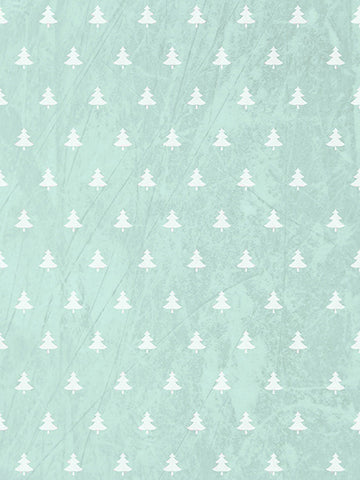 Minty Trees Printed Photography Backdrop / 3126 - DropPlace