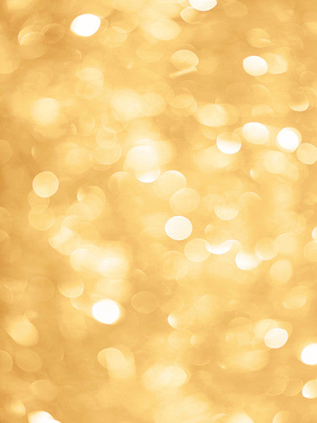 Golden Bokeh Printed Photo Background / 5001