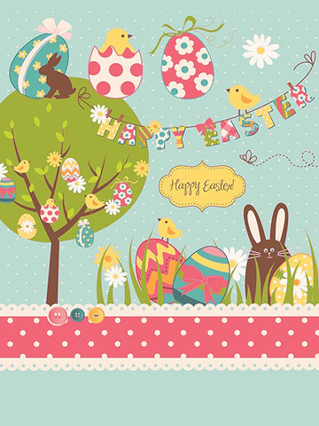 Easter Eggstravaganza Photo Background / 5135 - DropPlace