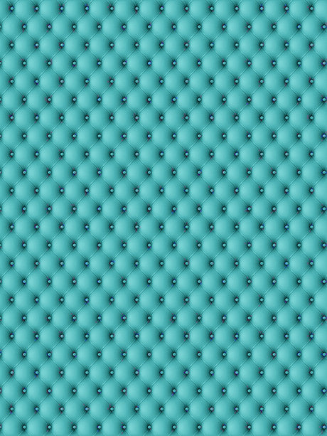 Tufted Teal Printed Photo Background / 514 - DropPlace