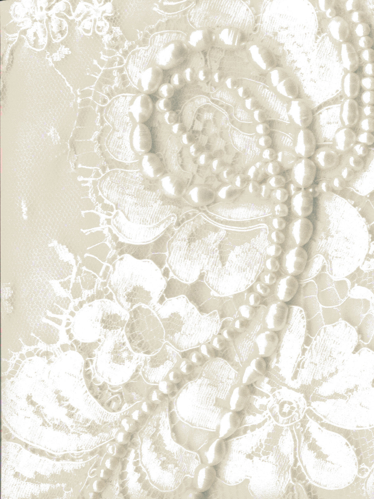 Pearls and Lace Photography Background / 7239 - DropPlace