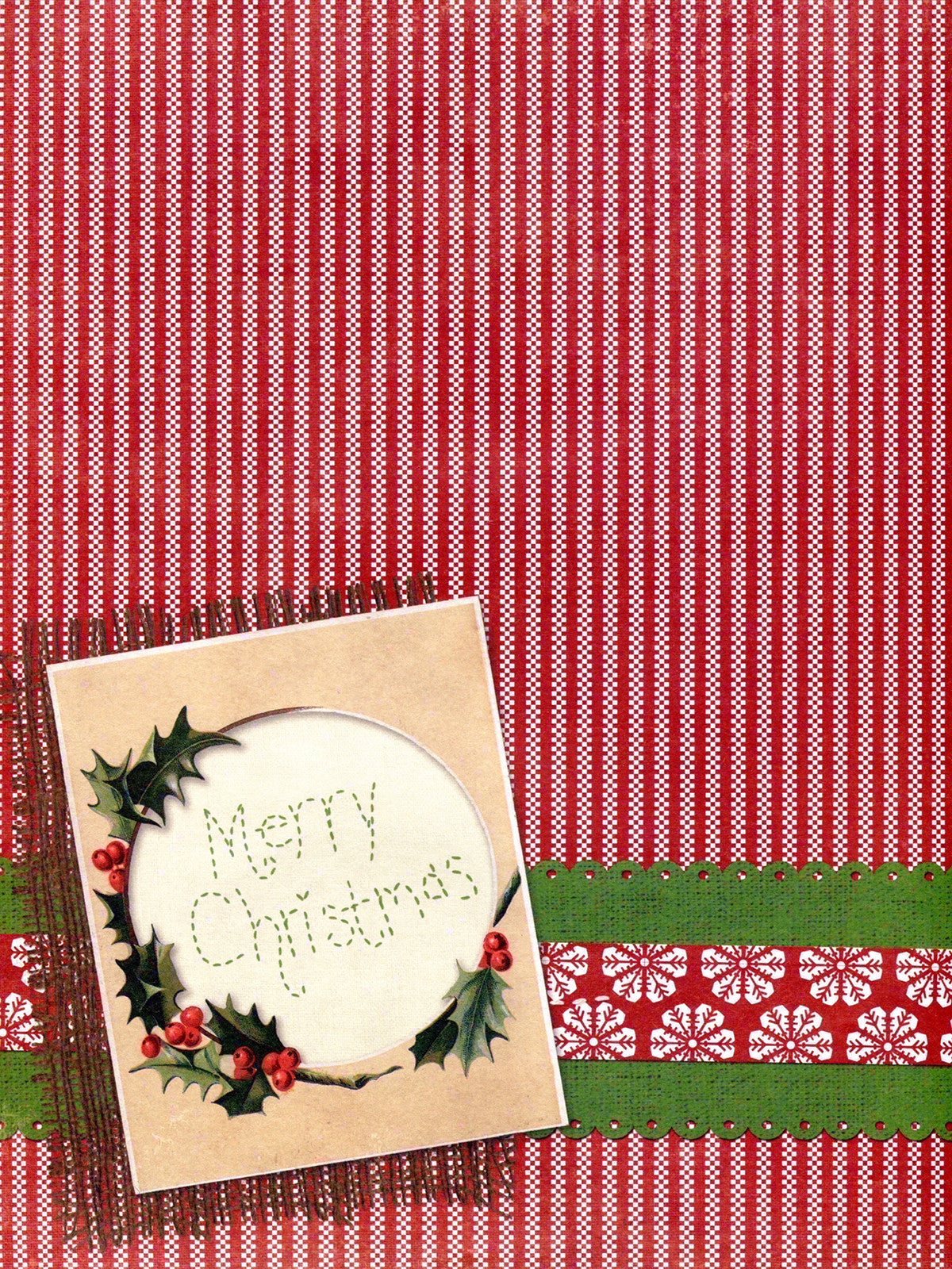 Christmas Tabletop Photo Background / 8095 - DropPlace