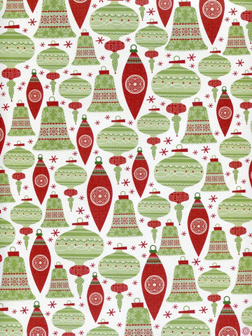 Christmas Bells Printed Photography Backdrop / 8098 - DropPlace