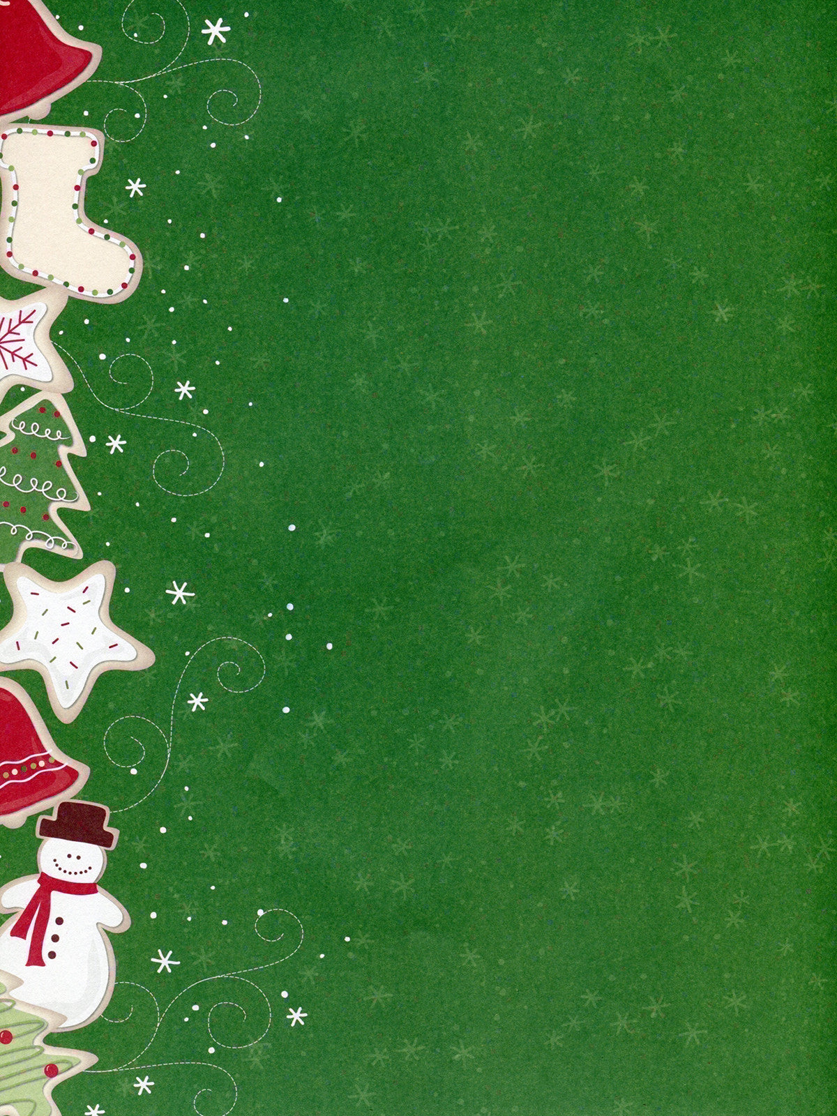 Green Sugar Cookies Photography Background / 8109