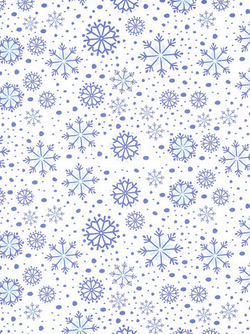 Blue Frost Printed Photography Background / 8134 - DropPlace