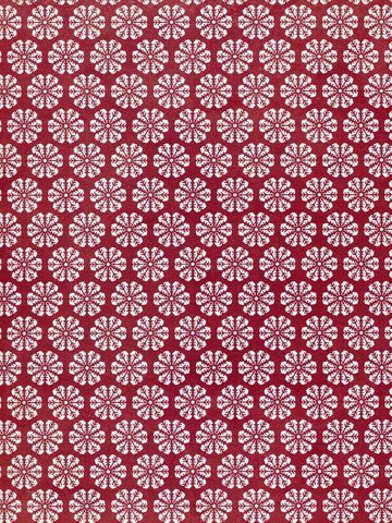 Crimson Snow Printed Photography Background / 8137 - DropPlace
