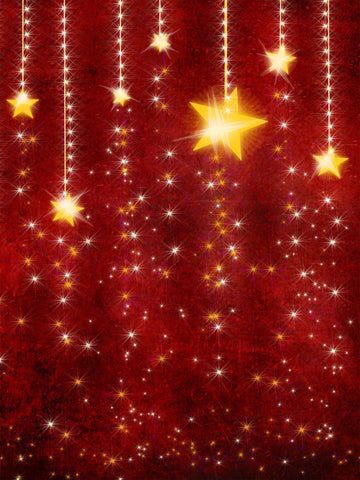 Falling Stars Printed Photo Backdrop / 813