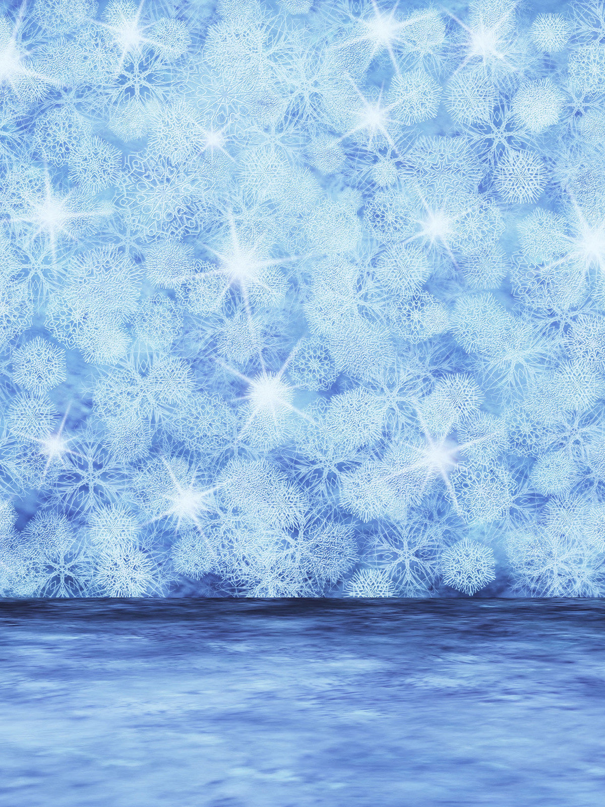 Sparkle Snow Printed Photo Background / 848 - DropPlace