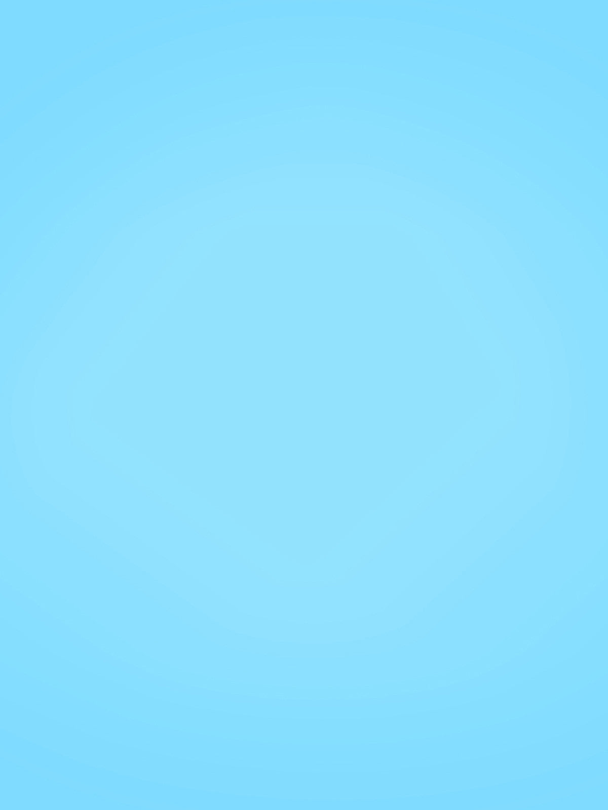 Light Blue Solid Printed Photography Background / 9101