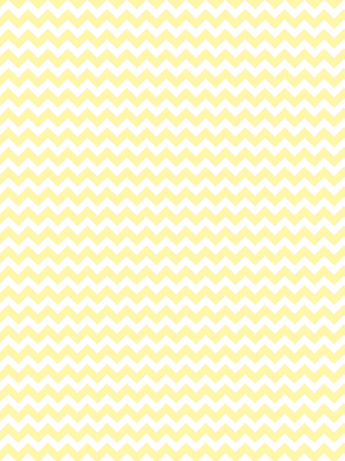 Lemon Yellow Chevron Printed Photo Backdrop / 9809