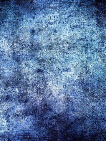 Denim Skies Blue Abstract Backdrop Printed Photography Backdrop / 9977 - DropPlace