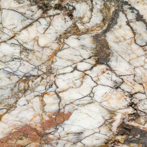 Photography Backdrop - Marble Brown and Ivory Veins - 1058