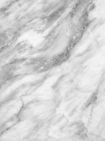 Printed Background Grey White Marble Backdrop - 1063