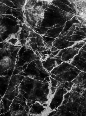Printed Marble Black Backdrop - 1199