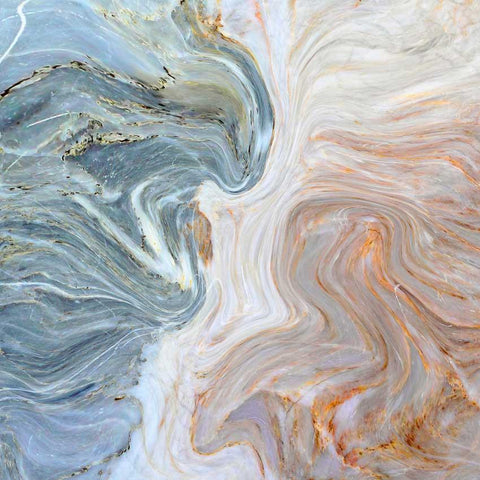 Printed Marble Blue and Ivory Swirl Backdrop - 1241 - DropPlace