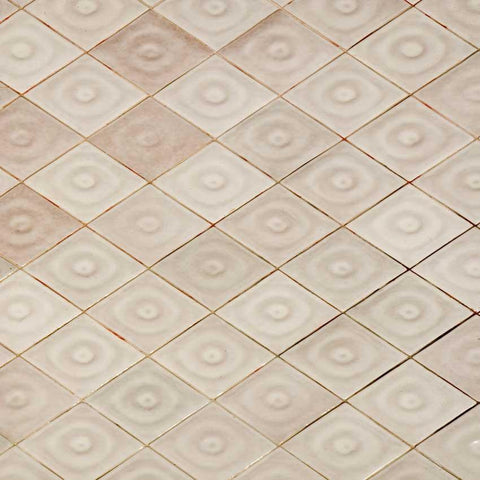 Belgian Cream Tile Backdrop - 1242 - DropPlace
